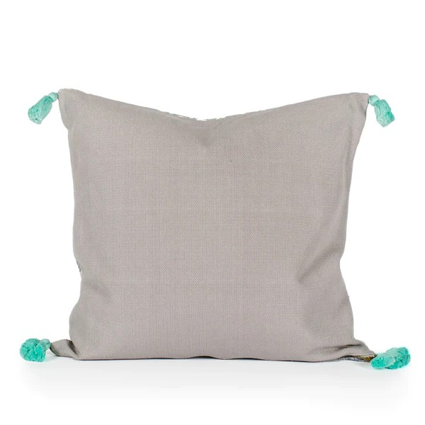 Kopal Woven Tasseled Pillow  Alegria Home