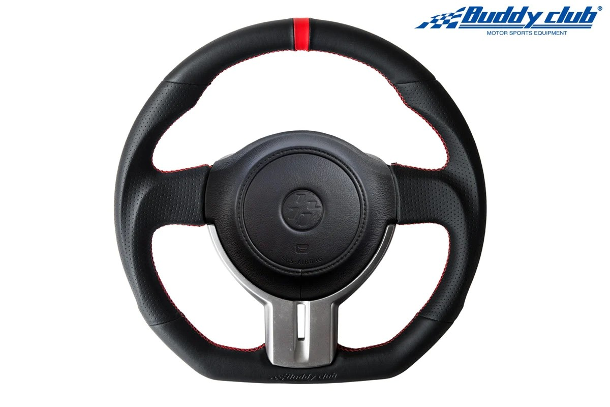 buddy club racing spec steering wheel leather toyota ft86 subaru brz [ 1200 x 800 Pixel ]