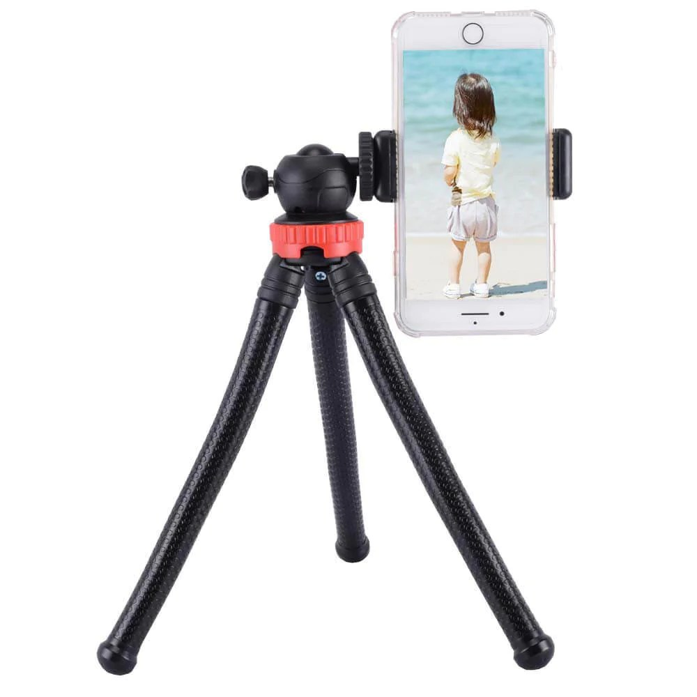 flexible tripod stand for