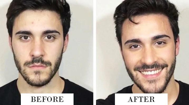men before after makeup | Makeupview co
