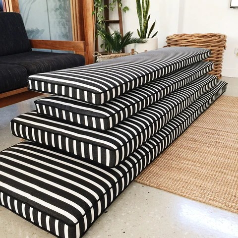 Custom Design Bench Seat Window Seat Chair Covers Cushions