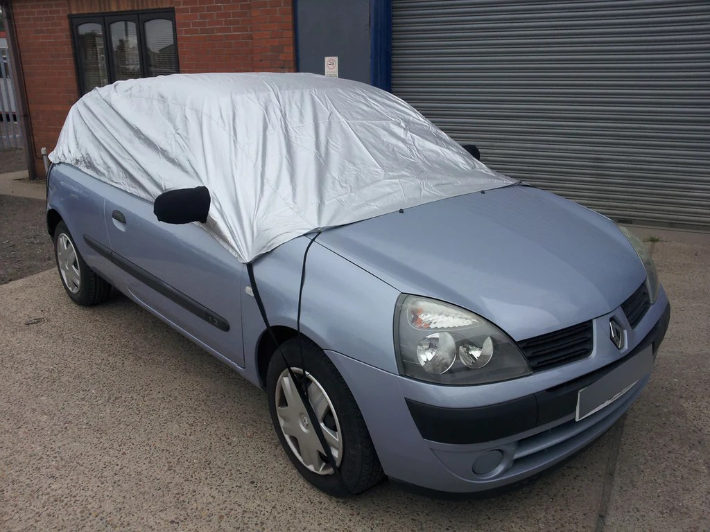medium resolution of renault clio ii 182 cup and sport 2003 2005 half size car cover every car covered