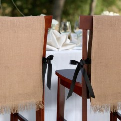 Burlap Chair Covers For Folding Chairs Wedding Cambridge Set Of 2 Wherebridesgo Com