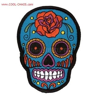 tattoo rose sugar skull