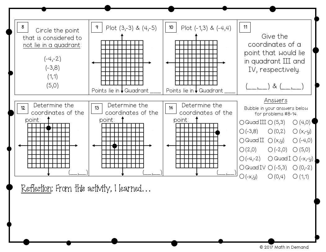 medium resolution of 6th Grade Math Worksheets - Math in Demand