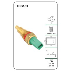 Tridon Thermo Fan Switch Wiring Diagram 7 Pin Trailer Plug Toyota All Products Page 89 A1 Autoparts Niddrie Tfs151