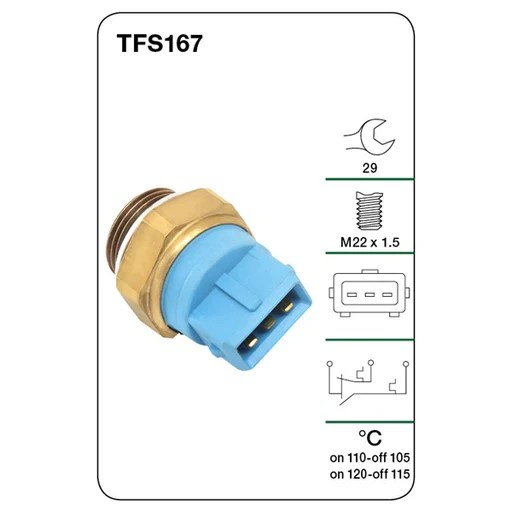 tridon thermo fan switch wiring diagram editable puzzle products page 766 a1 autoparts niddrie tfs167