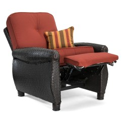 Reclining Patio Chairs And Table Chair Design App Breckenridge Red 3 Pc Furniture Set Two Recliners