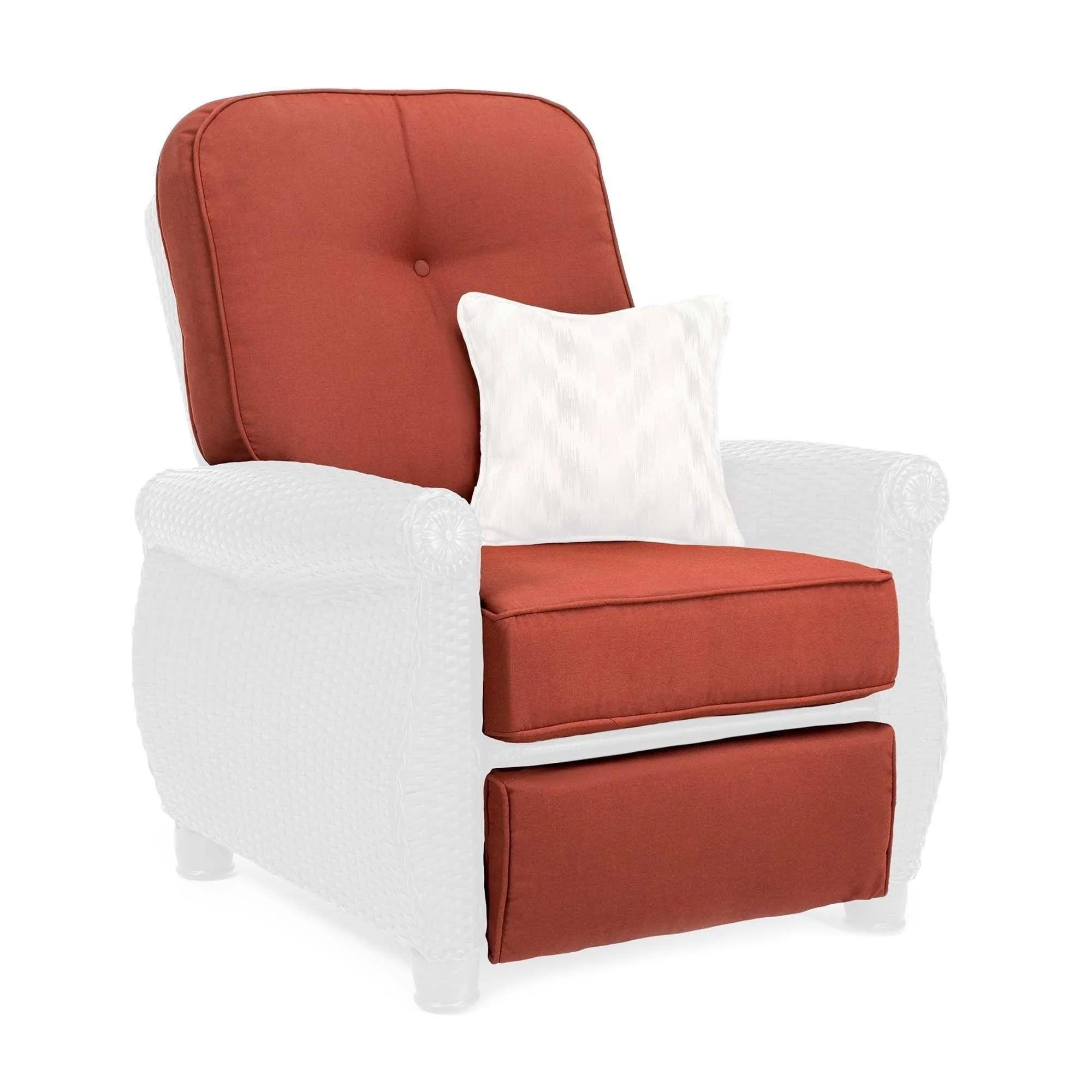 breckenridge outdoor recliner replacement cushion set