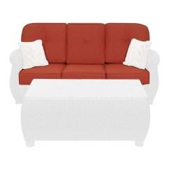 Cushion Sofa Set Inflatable Wilkinsons Breckenridge Outdoor Replacement  La Z