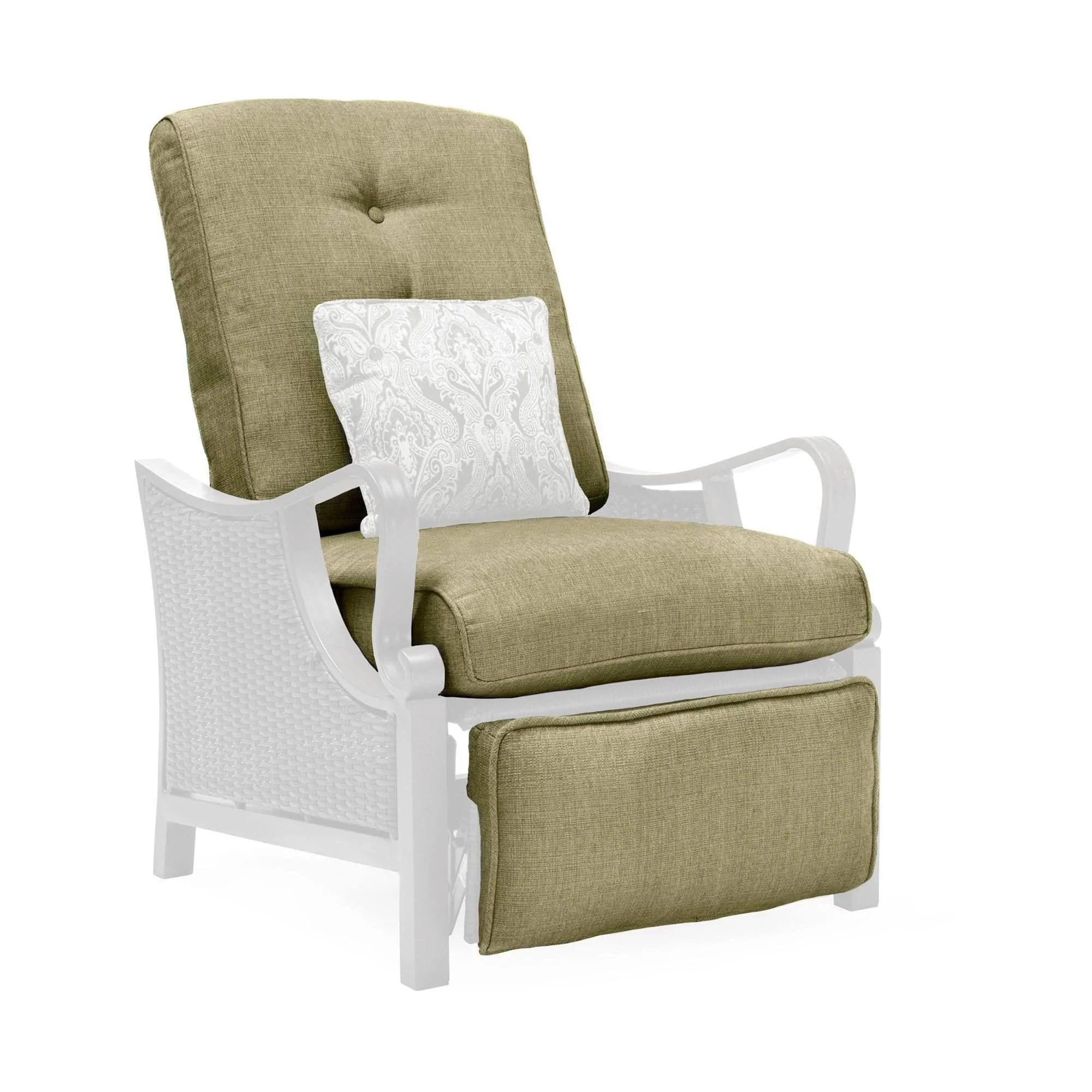 Outdoor Recliner Chair Peyton Outdoor Recliner Replacement Cushions La Z Boy