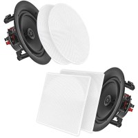 "Pyle Pro 10"" In-Wall/In-Ceiling 250W Stereo Speakers (Pair ..."