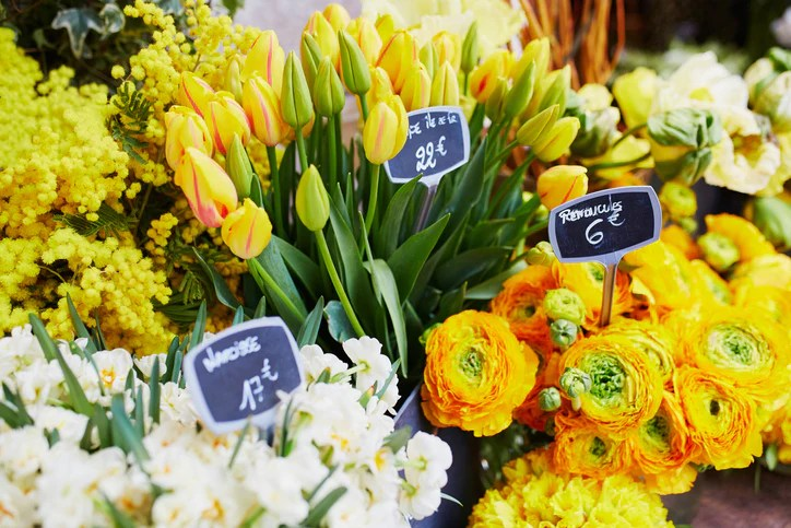 10 best selling flowers