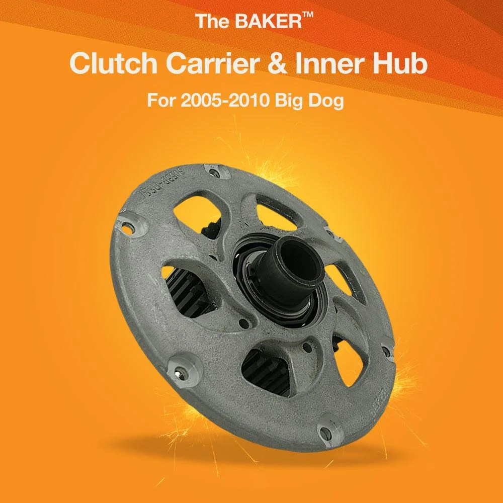 hight resolution of clutch carrier inner hub for 2005 2010 big dog