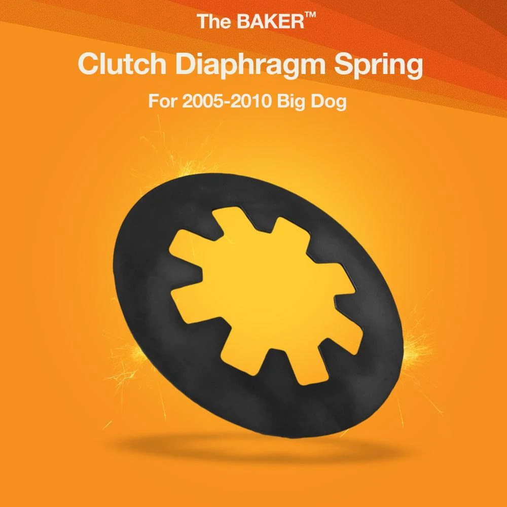 clutch diaphragm spring for 2005 2010 big dog [ 1000 x 1000 Pixel ]