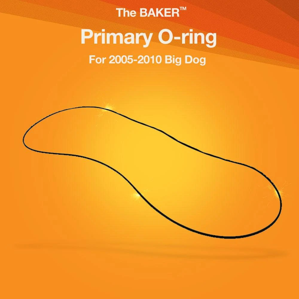 medium resolution of primary o ring for 2005 2010 big dog