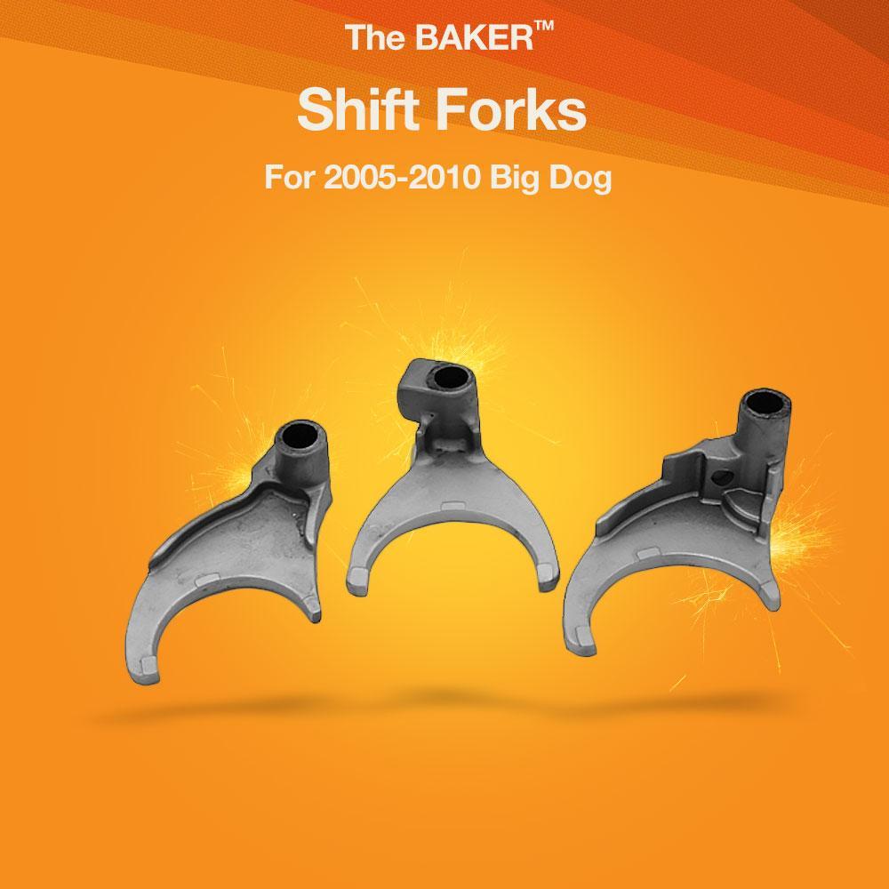 medium resolution of shift forks for 2005 2010 big dog