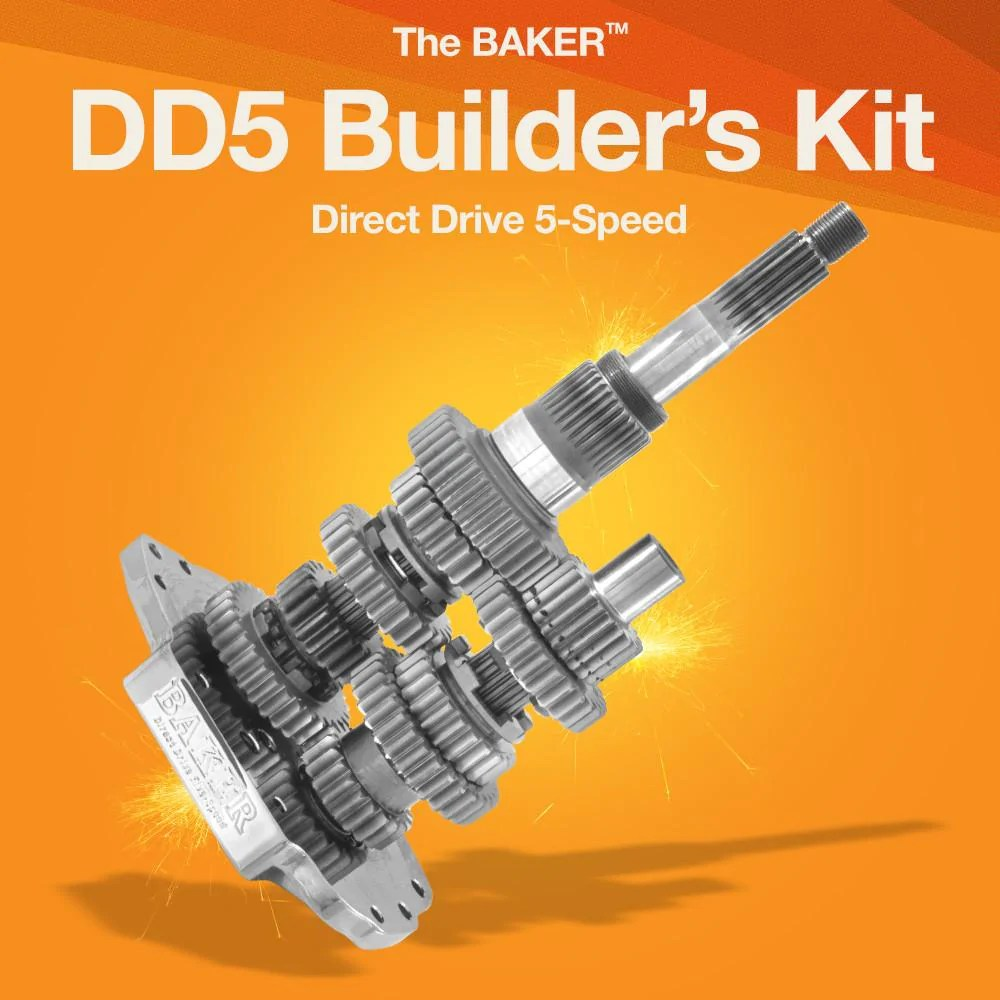 hight resolution of dd5 direct drive 5 speed builder s kit