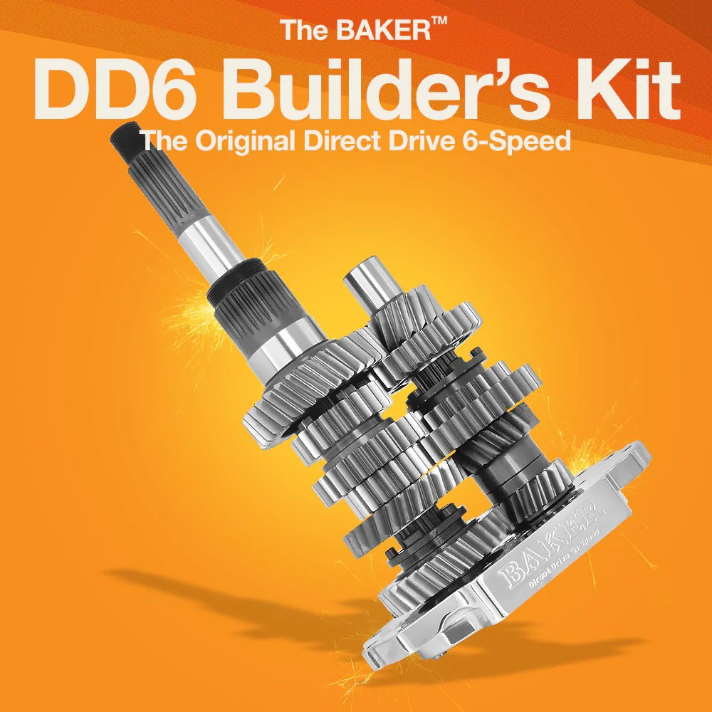 hight resolution of dd6 direct drive 6 speed builder s kit