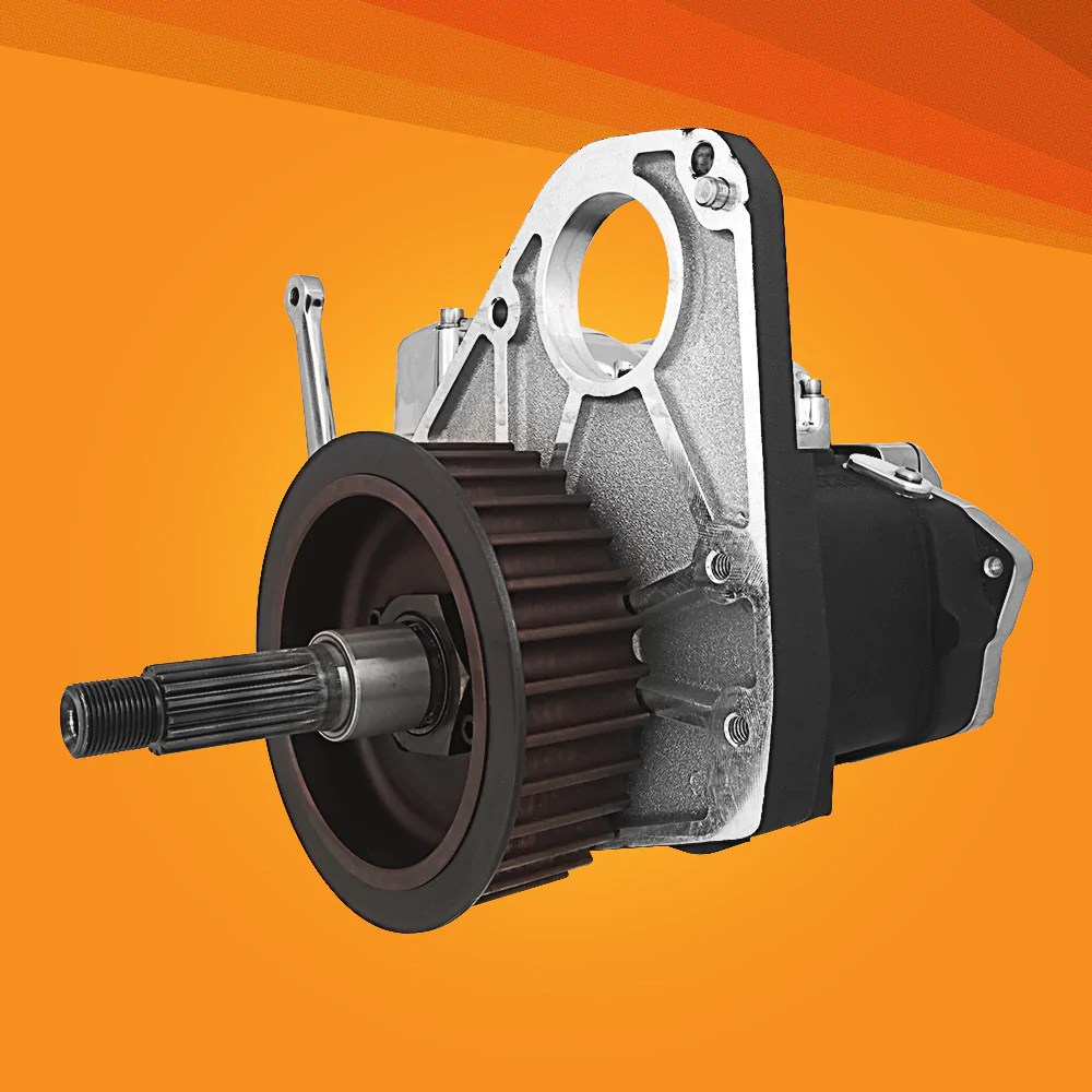 hight resolution of dd6 direct drive 6 speed complete transmission