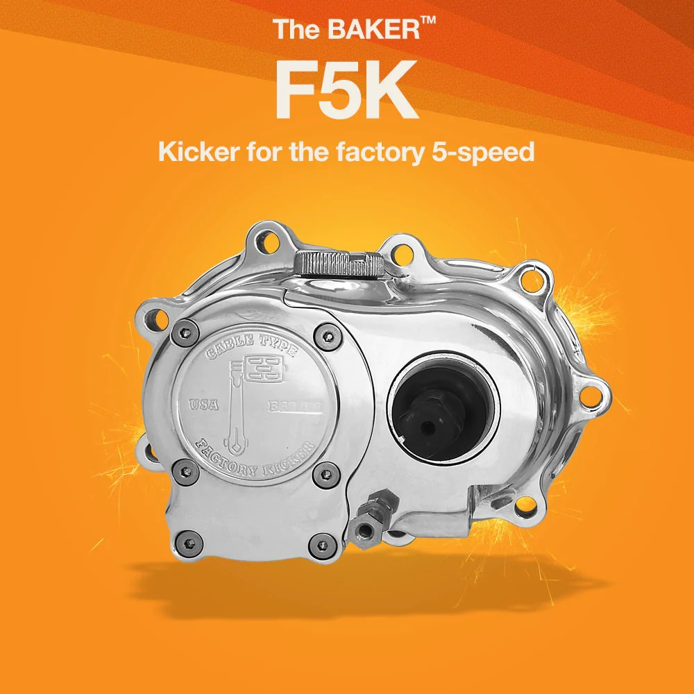 f5k factory 5 speed kicker for harley davidson 5 speed motorcycles  [ 1000 x 1000 Pixel ]