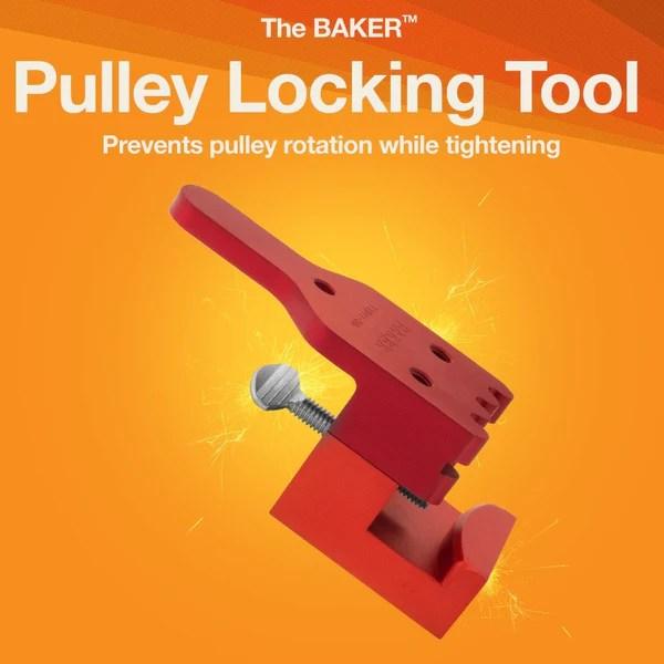 Pulley Locking Tool  BAKER Drivetrain