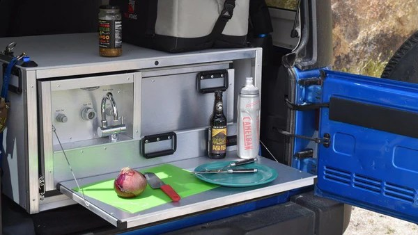 Jeep Camping Kitchen  SlideOut Kitchen for Overlanding  Trail Kitchens