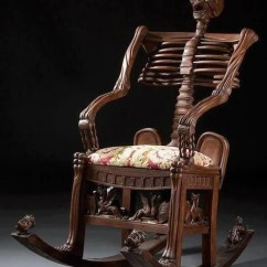 Wooden Skull Chair Ikea Poang Rocking 10 Most Interesting Chairs On The Internet Zapps Clothing