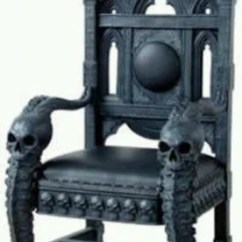Wooden Skull Chair Bedroom Chaise 10 Most Interesting Chairs On The Internet Zapps Clothing Gothic