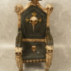 Wooden Skull Chair Kitchen Table Covers For Sale 10 Most Interesting Chairs On The Internet Zapps Clothing Gothic