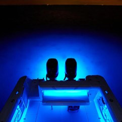 Blue Chair Pads Ergonomic Led Underwater Transom Lights
