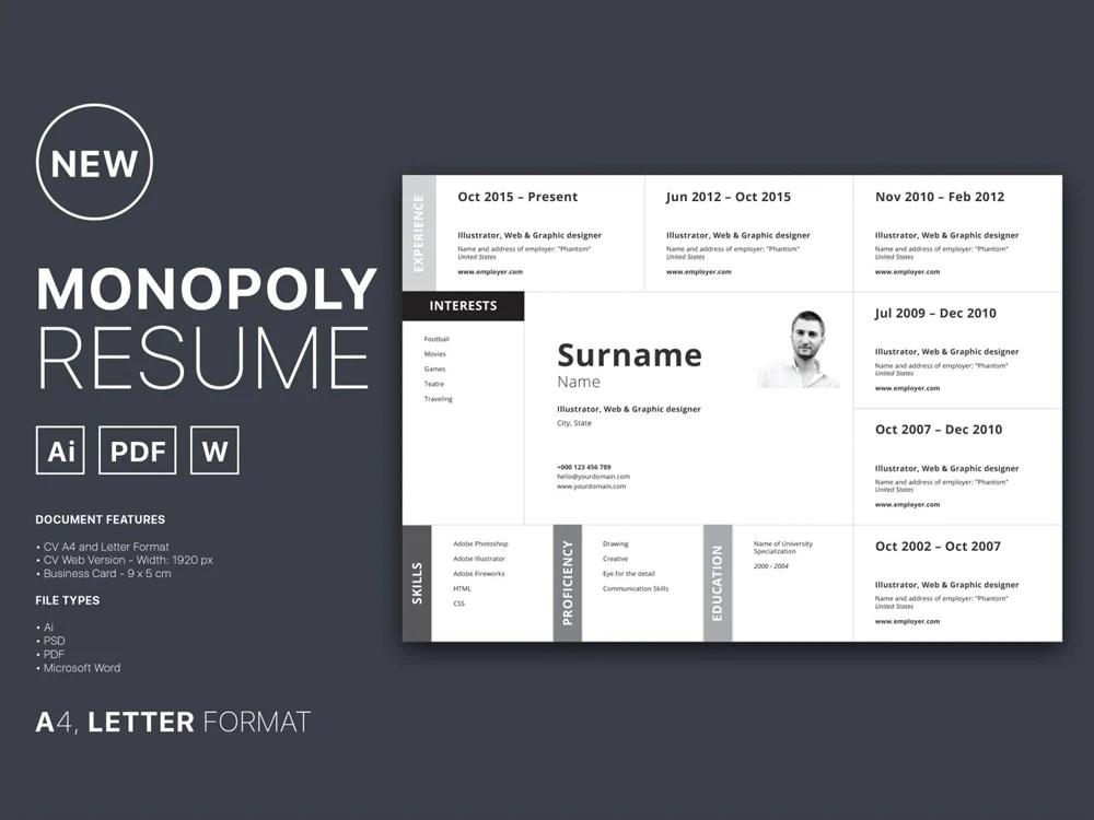 best free word doc resume templates