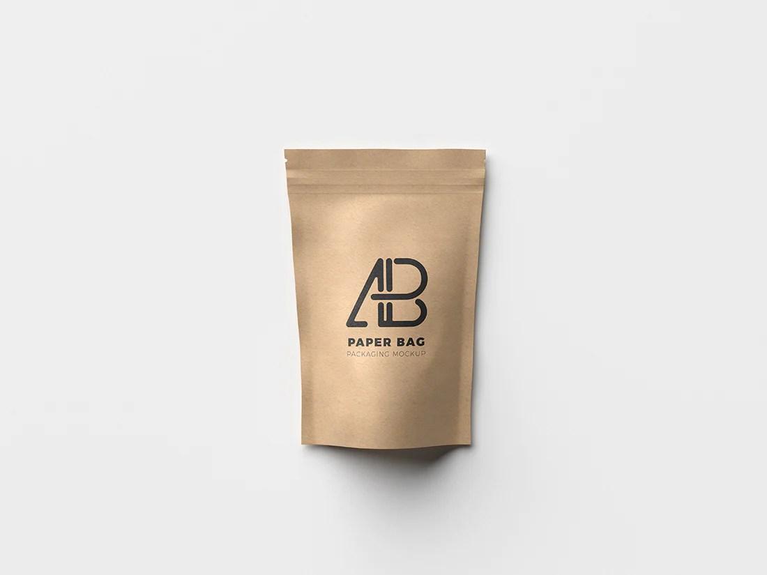 Download Free Paper Bag Packaging Mockup - CreativeBooster