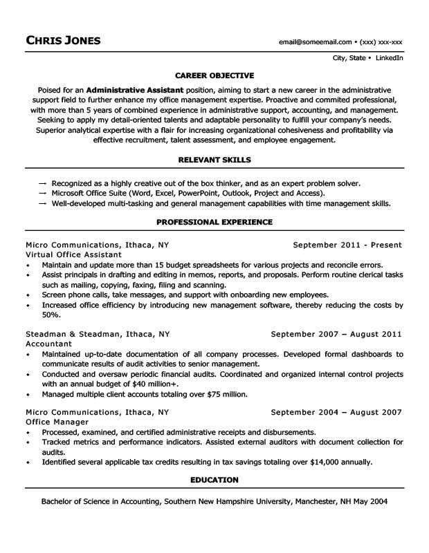 Free Stay At Home Mom Resume Templates In Microsoft Word