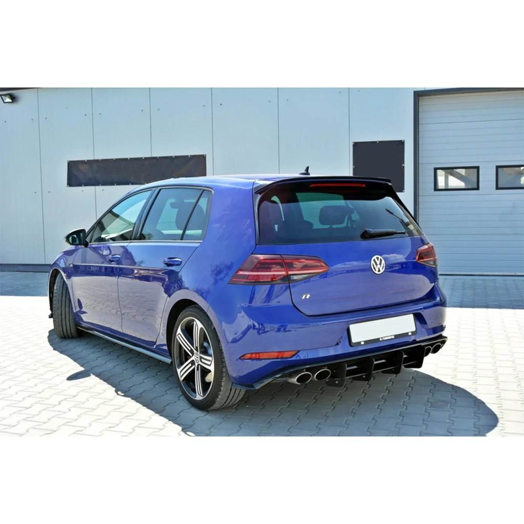 hight resolution of  maxton design spoiler cap vw golf r mk7 facelift