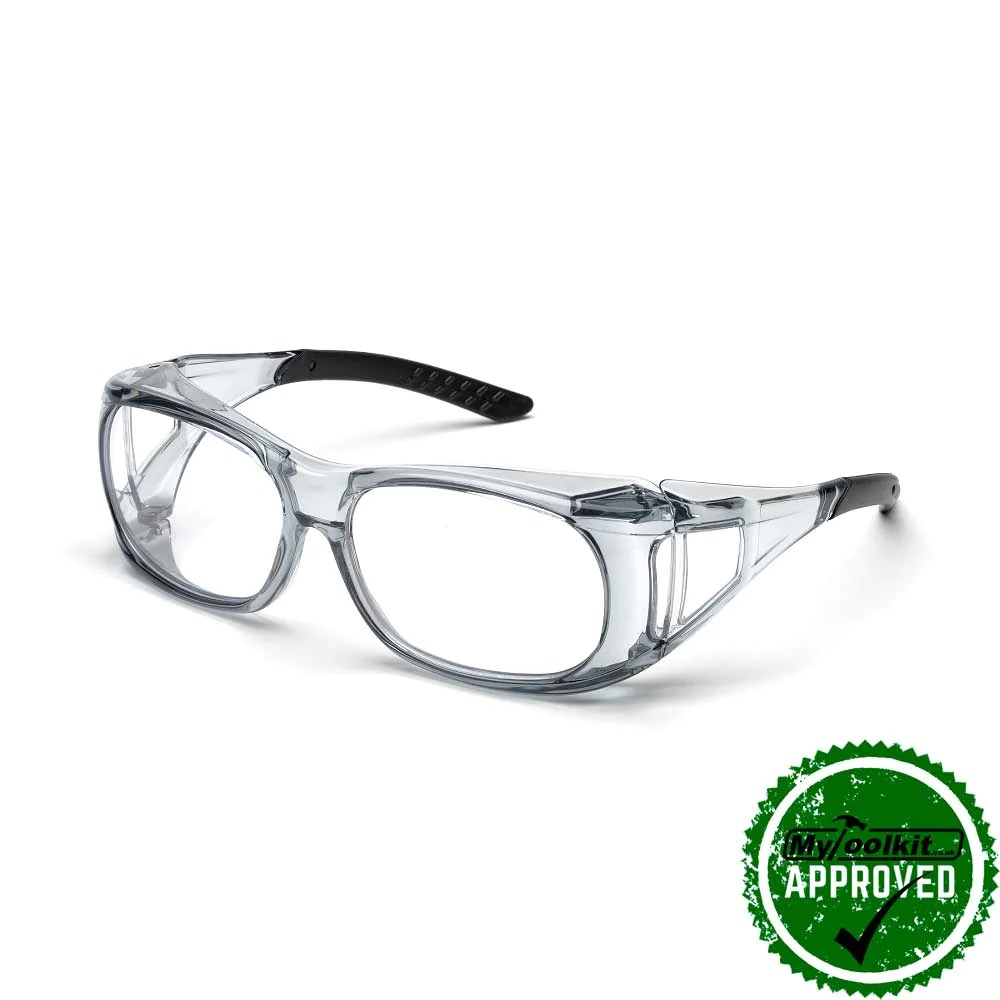 Elvex Over Glass Safety Glasses - Stapling and Nailing ...