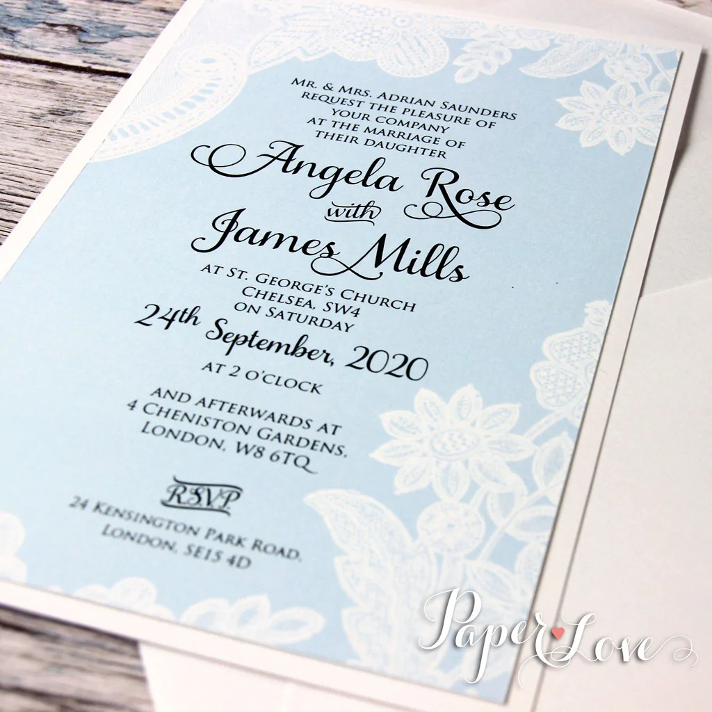 How Make Wedding Invitations