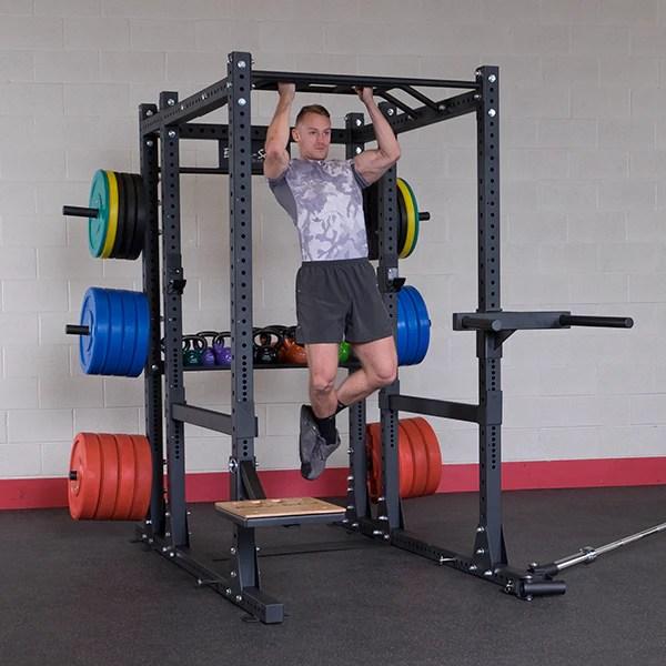 body solid power rack attachment multi chin up cross member sprcu