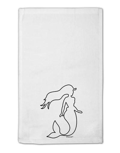 mermaid outline 11 x18