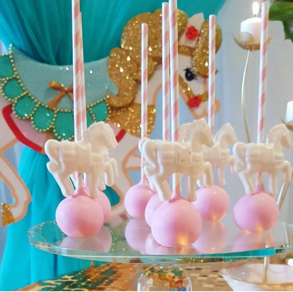 Carousel Horse Baby Shower Theme
