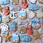 Beach Themed Seashell Seahorse Decorated Sugar Cookies The Iced Sugar Cookie