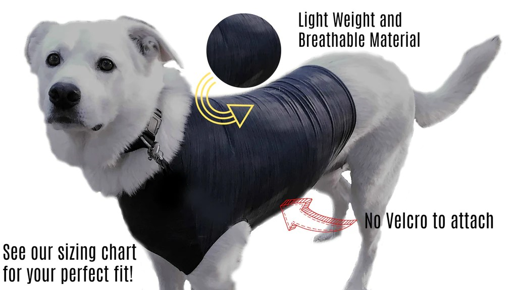 Anti-Anxiety Shirt For Dogs To Relieve Dog