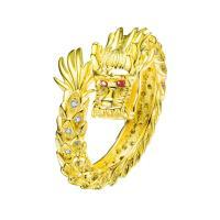 Mister Dragon Ring - Gold Vermeil