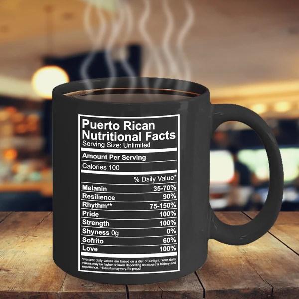 Puerto Rican Nutritional Facts  Puerto Rican Pride
