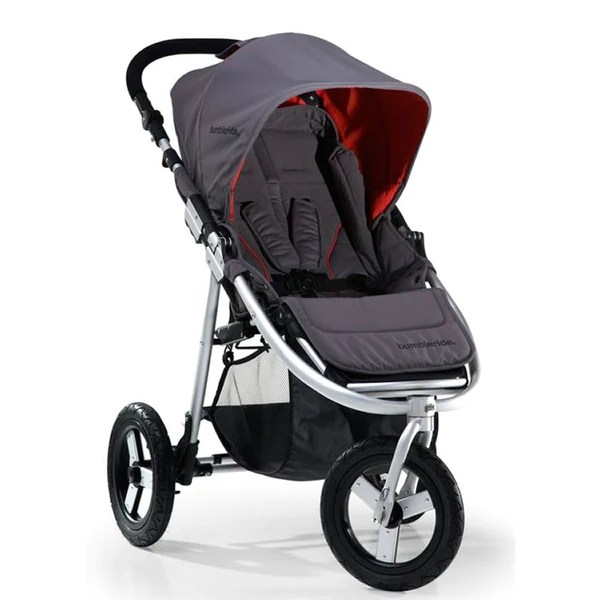 Bumbleride Indie 2011 All Terrain Stroller FogGrey  NY