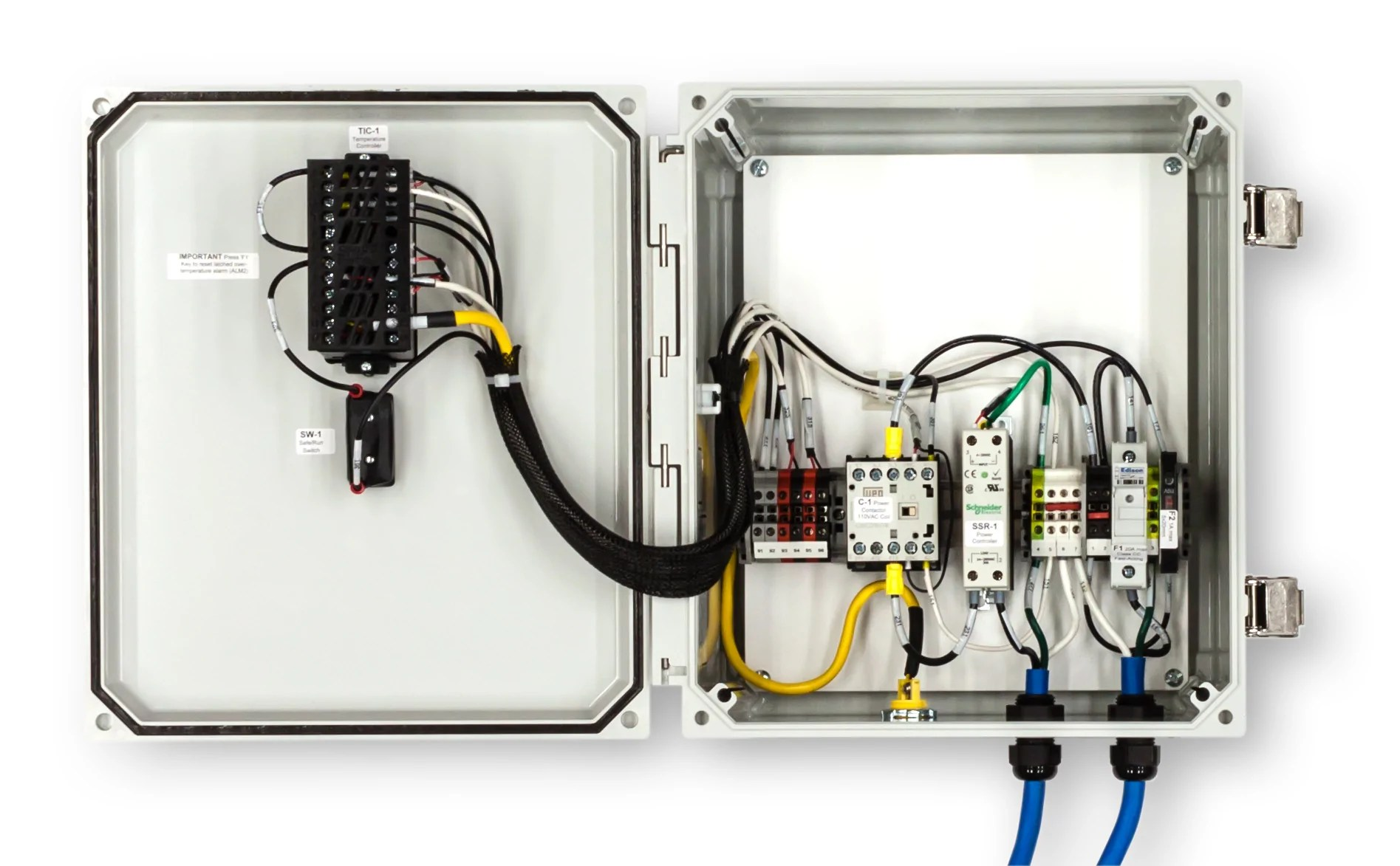 hight resolution of  temperature control panel single phase 120v 15a shift controls interior