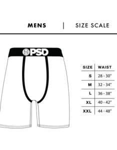 Size chart also the pattern psd underwear rh psdunderwear