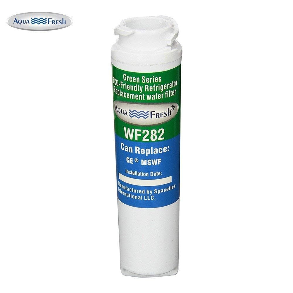 aqua fresh wf282 replacement for ge smartwater ge mswf 101820a refrigerator water filter [ 1000 x 1000 Pixel ]