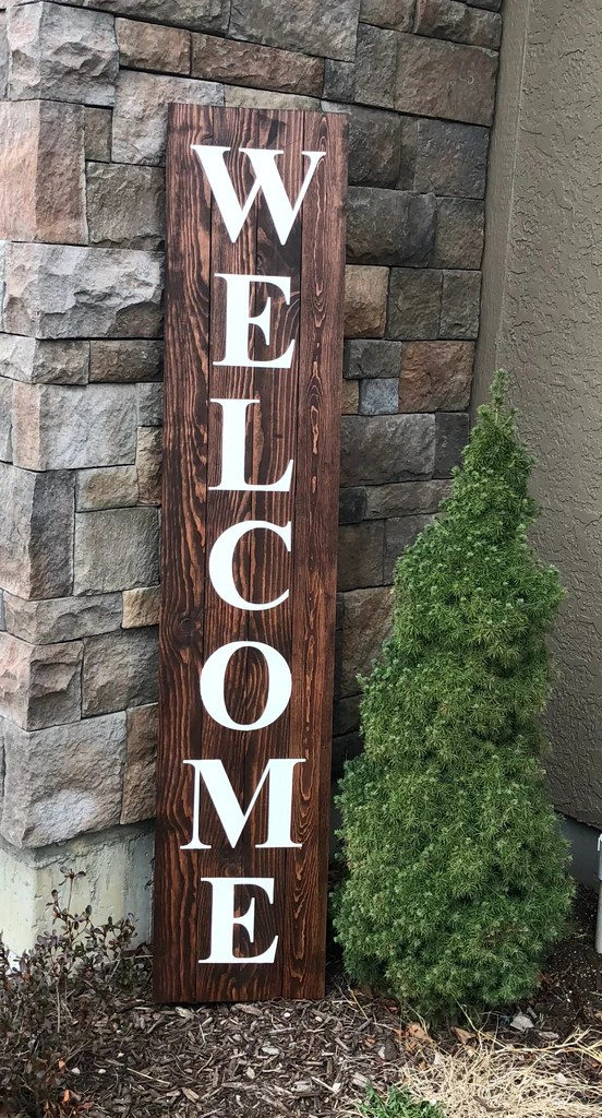 welcome wood sign 6