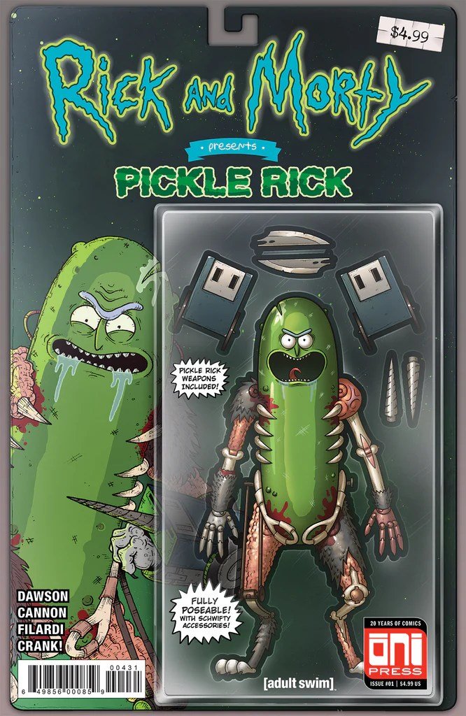 rick and morty pickle